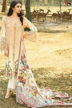 3ac96381aa Deepsy Presents Firdous Pure Cotton Print With Heavy Embroidery Suit