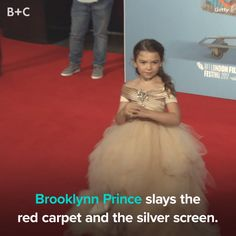 Brooklynn Prince is *loving* the spotlight!