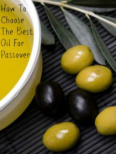 "Kosher Ingredient of the Month- Olive Oil -€"" The 1 Ingredient for a Perfect Passover"