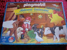 Playmobil Advent Calendar 4151 Animal Christmas RARE Retired Used | eBay