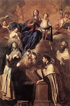Pray4Us2day Our Lady of Mount Carmel (Jul. 16) Title for #Saint Mary recognizing contemplative witness of Carmelite Order & the Brown Scapular.