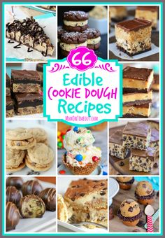66 Edible Cookie Dough Recipes - Mom On Timeout