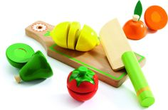 Djeco Fruits and vegetables to cut  DJ06526