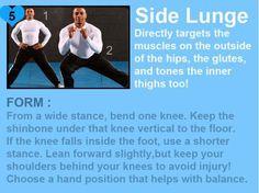 Side lunge: do it!