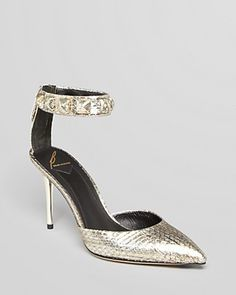 B Brian Atwood Pointed Toe Evening Pumps - Mercada High Heel | Bloomingdale's
