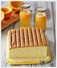 Orange Ogura Cake (Anncoo Journal)