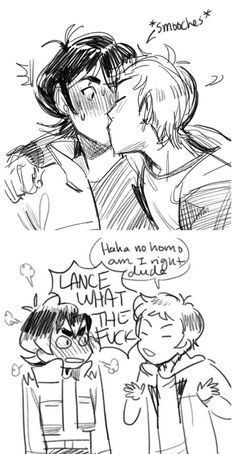 Just a wonderful book of Klance. I don't own any of the characters or any of the pictures. All credit goes to the respected artists. Also, there is no smut in this book. Some of the pictures may get a little heated, none of them are outright sex. Voltron Klance, Voltron Comics, Voltron Memes, Form Voltron, Voltron Ships, South Park, Keith Lance, Klance Comics, Paladin