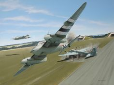 De Havilland Mosquito by jaoblack on DeviantArt De Havilland Mosquito, Ww2 Aircraft, Military Aircraft, Air Fighter, Fighter Jets, Airplane Art, Airplane Design, Aircraft Painting, Ww2 Planes
