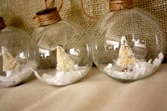 Your place to buy and sell all things handmade Shabby Chic Christmas Ornaments, Christmas Ornament Sets, Christmas Scenes, Great Christmas Gifts, Handmade Ornaments, Xmas Ornaments, All Things Christmas, Handmade Christmas, Christmas Holidays