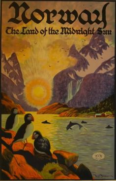 Norway: The Land of the Midnight Sun, 1925