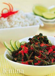 PLECING KANGKUNG - traditional Indonesian foods   #recipe http://femina.co.id