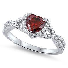 Silvercz Jewels 14k White Gold Fn Round 1.58 Ct Sim.Diamond Dangling Pear Shape Wedding Ring Novelty & More Wedding & Engagement Rings