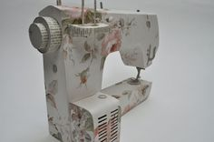 Paper sewing machine by Jennifer Collier