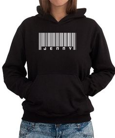 Jenny - Barcode Women Hoodies