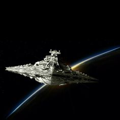Star Destroyer /by ?? #StarWars #art