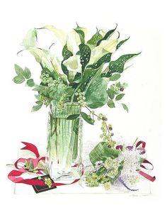 Мои закладки Watercolor Cards, Watercolor Flowers, Watercolor Paintings, Watercolour, Botanical Art, Botanical Illustration, Illustration Art, Plant Sketches, Decoupage