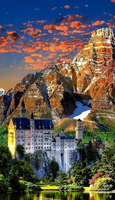 Neuschwanstein Castle, Germany Source by helena_mattioli The Places Youll Go, Places To Go, Germany Castles, Neuschwanstein Castle, Beautiful Castles, Beautiful Places To Visit, Palaces, Travel Around The World, Beautiful Landscapes