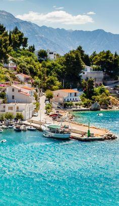 Adriatic bay at Split