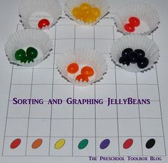 Jellybeans Sorting and Graphing