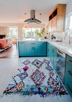 Cool 32 Gorgeous Bohemian Style Kitchen Decor Ideas