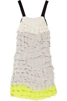 DVF Gianna Silk Chiffon Dress
