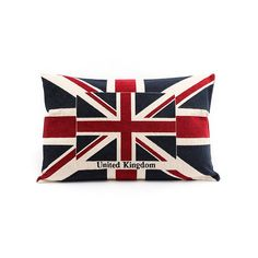United Kingdom cushion The designer touch for your interiors and wellness