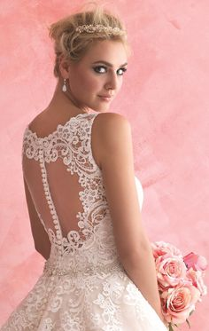 Allure 2816 by Allure Bridals Romance  Oh yes please! :)