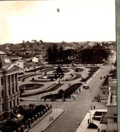 """O DIRIGÍVEL """"HINDENBURG"""" SOBRE CURITIBA EM 02 DE DEZEMBRO DE 1936."""