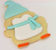 Penguin Cookies by The Bearfoot Baker