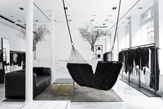 Alexander Wang Soho shot by Ryan Korban / Get started on liberating your interior design at Decoraid (decoraid.com).