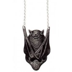 Aww, he's cute! Gothic Jewelry, Diy Jewelry, Unique Jewelry, Jewlery, Goth Chic, Black Bat, Chunky Rings, Shirts For Girls, Hair Accessories