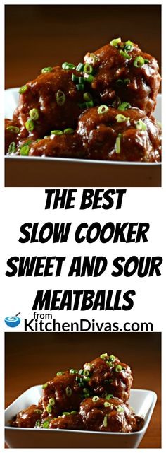 Ken and his buddies play poker once a month and these meatballs are always a huge hit. Sweet and Sour Meatballs are so easy to make. If we have time we make our Perfect Meatballs and if not we buy a large bag of frozen prepared meatballs. Throw it all in the slow cooker and in a few hours total perfection!