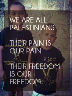 Todos somos Palestina! #LongLivePalestine