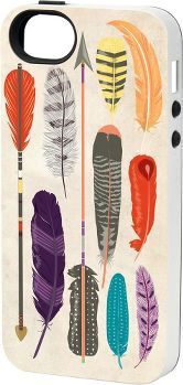 Paper Source Feathers iPhone Cover