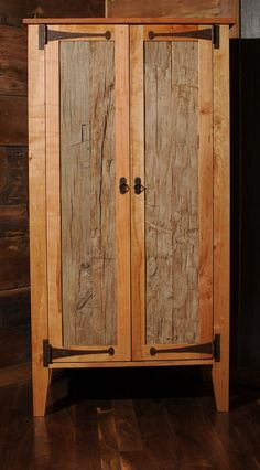 Reclaimed Wood Armoire Wardrobe Closet by VintageLumber on Etsy, $3000.00
