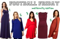 Gameday maternity fashion