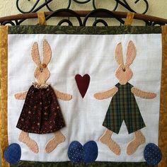 Panô de coelhos ... Páscoa ! | Patch da Gil | Flickr