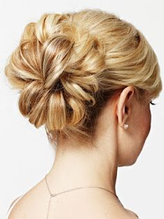 simple, elegant up do