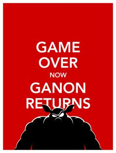 Return of Ganon: A hero falls - Forces of evil celebrate resurrection - Of Evil Master. (3-5-3 word)