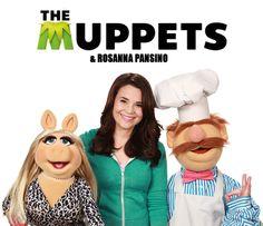 The Muppets and Rosanna Pansino!