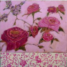 pink toile by femmehesse on Etsy, $500.00