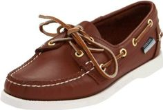 "Sebago Women's Docksides Boat Shoe Sebago. $44.99. B57973, B58058, B58022, B57992, B57963, B58057, B57921. leather. Rubber outsole. Nubuck / Leather upper. Heel measures approximately 0.5"". Rubber sole. Leather"