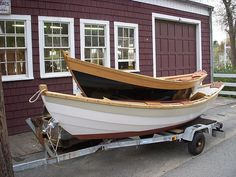 Nice dories built by Lowell's Boat Shop