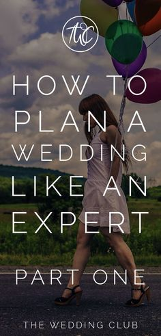How to plan a wedding like an expert (part one) - more and more brides are planning their own wedding. This article will help you to plan your own wedding, with expert planning tips on everything wedding-related. Wedding advice are giving for each aspect to help you plan your dream wedding day! #expert #planawedding