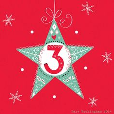 Day 3, Christmas Advent! Faye Buckingham 2014