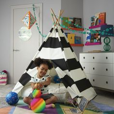 Kids Teepee (Black