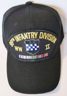 99TH INFANTRY DIVISION  WORLD WAR II  W/ CAMPAIGN RIBBON BALL CAP/HAT #MILPRO #BallCap