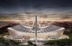 Moses Mabhida Stadium Holiday Destinations, Travel Destinations, African Vacation, Durban South Africa, Kwazulu Natal, Beautiful Homes, Exotic, Explore, Architecture