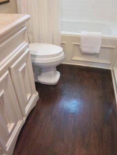 Vinyl flooring bathroom on pinterest bathroom light for Casa moderna vinyl flooring installation