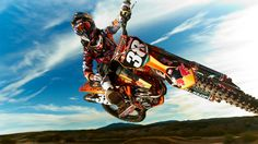 Marvin Musquin Dirt Bike Jump Wallpaper